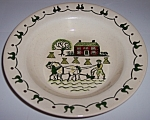 METLOX POTTERY HOMESTEAD PROVINCIAL RIMMED SOUP BOWL!