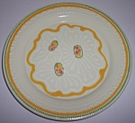 FRANCISCAN POTTERY PICNIC FAMILY EXPERIMENTAL PLATE!