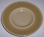 FRANCISCAN POTTERY PEBBLE BEACH GRAVY UNDERPLATE!