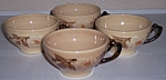 FRANCISCAN POTTERY CAFE ROYAL SET/4 CUPS! MINT!