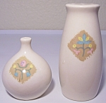 VERNON KILNS POTTERY COUNTRY COUSINS SALT/PEPPER SET!