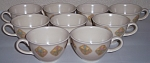 VERNON KILNS POTTERY COUNTRY COUSINS SET/9 CUPS!