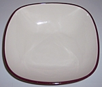WINFIELD CHINA POTTERY EARLY RED/BLUE VEGETABLE BOWL!