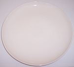 WINFIELD CHINA POTTERY LARGE WHITE  DINNER PLATE!