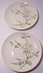 FRANCISCAN POTTERY FINE CHINA GRANADA PR SAUCERS!