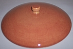 FRANCISCAN POTTERY EL PATIO COMPARTMENT CASSEROLE LID!