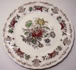 FRANCISCAN POTTERY BOUQUET ENGLAND DINNER PLATE!