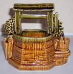 McCOY POTTERY WISHING WELL PLANTER!  MINT!