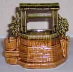 Click to view larger image of McCOY POTTERY WISHING WELL PLANTER!  MINT! (Image2)