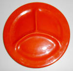 Bauer Pottery Plain Ware Very Rare Child's Orange Grill