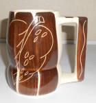 Purinton Pottery Intaglio Beer / Grandmug!  MINT
