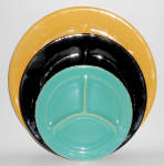 Click here to enlarge image and see more about item 23409: Bauer Pottery Plain Ware Very Rare Child's Jade Grill