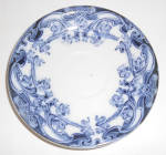 Alfred Colley Flow Blue China Lusitania Saucer! MINT