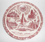 Vernon Kilns Pottery University Of Washington Plate!
