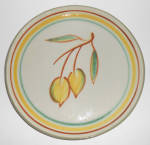 Click here to enlarge image and see more about item 24203: Winfield China Pottery Early Fruit Hand Decorated Plate