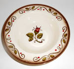 Metlox Pottery Poppy Trail Provincial Rose Fruit Bowl!