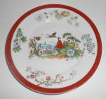Click here to enlarge image and see more about item 24844: C. Tielsch Germany China Oriental Woman Scenic Plate!