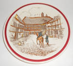 Vernon Kilns Pottery Bit of Old New England No. 7 Plate
