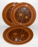 Click to view larger image of Metlox Pottery Poppy Trail Set/3 San Clemente Dinner Pl (Image1)