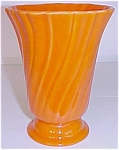 Click to view larger image of Franciscan Pottery Coronado Tangerine Vase (Image1)