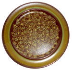 Click here to enlarge image and see more about item 27476: Franciscan Pottery Madeira Dinner Plate