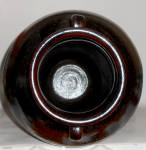 Click to view larger image of Old Time Pottery Wheel Thrown Bll Ring 20 Handled Vase (Image5)