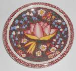 Click here to enlarge image and see more about item 33358: Vernon Kilns Pottery Lei Lani Don Blanding Saucer