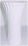 """Click to view larger image of Franciscan Pottery 9-3/4"""" Ivory Art Ware Vase (Image1)"""
