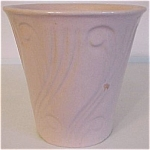 "PACIFIC POTTERY ART DECO 5-5/8"" PINK FLOWERPOT!"