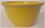 GARDEN CITY POTTERY WIDE RING YELLOW MIX BOWL!