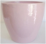 "Garden City Pottery 8"" Pink Conical Flowerpot"