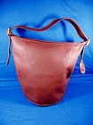 COACH Red Leather Large Shoulder Bag