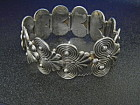 Taxco Mexico Sterling Silver Bracelet Meliseo Rodriguez
