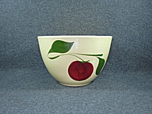 Watt Pottery Apple Mixing Bowl Number 65