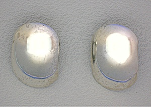 Sterling Silver Large Clip Earrings Thailand (Image1)