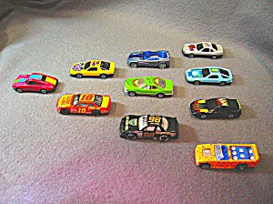 Lot #1 - 10 Diecast, Hot Wheels style toy vehicles (Image1)
