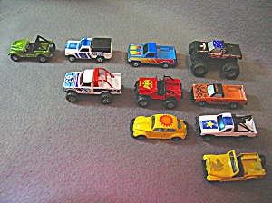 Lot #3 - 10 Diecast, Hot Wheels Style Toy Vehicles