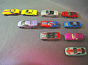 Lot #4 - 10 Diecast, Hot Wheels Style Toy Vehicles