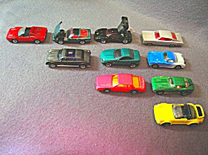 Lot #5 - 10 Diecast, Hot Wheels Style Toy Vehicles