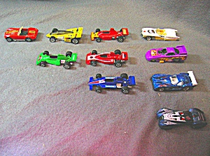 Lot #7 - 10 Diecast, Hot Wheels, Styles Toy Vehicles