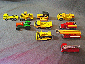 Lot #9 - 10 Diecast, Hot Wheels, Style Toy Vehicles