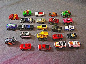 Lot #10 - 23 Diecast, Hot Wheels, style toy vehicles (Image1)