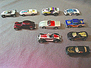 Lot #12 - 10 Diecast, Hot Wheels Style Toy Vehicles