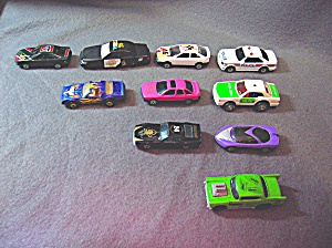 Lot #16 - 10 Diecast, Hot Wheels Style Toy Vehicles