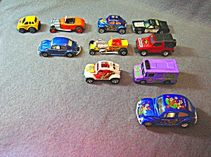 Lot #19 - 10 Diecast, Hot Wheels Style Toy Vehicles