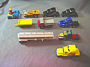 Lot #20 - 10 Diecast, Hot Wheels Style Toy Vehicles