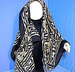 SILK SCARF 42 Inch  Made In FRANCE . (Image1)