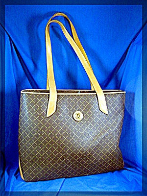 Tote La Tour Eiffel Brown & Tan Paris