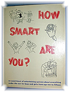 HOW SMART ARE YOU?  BOOK (Image1)