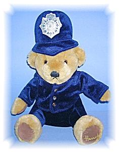 English 12 Inch Harrods  Police Teddy Bear (Image1)